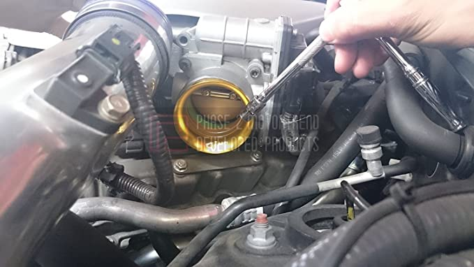 Amazon.com: P2M ENERGY HALO THROTTLE BODY VELOCITY STACK NISSAN R35 GTR / 370Z & INFINITI G37 / Q50 P2-ENRR35-GM: Automotive