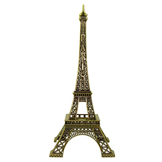 Souvenirs of france eiffel tower metal statue height 13cm souvenirs of france eiffel tower metal statue height 13cm 51in color publicscrutiny Images