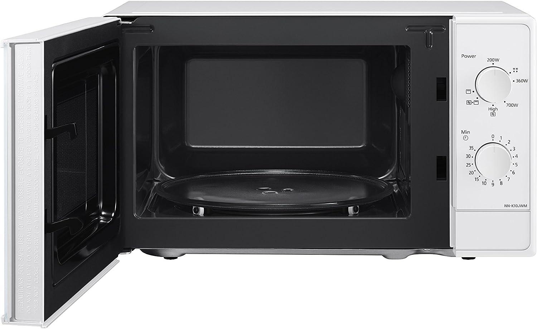 Panasonic NN-K10JWMEPG Microondas Compacto 20 L (800 W, 2 Mandos ...