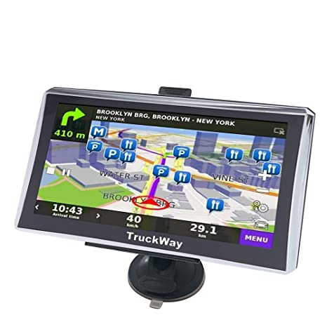 Amazon.com: TruckWay GPS – Pro Series modelo 720 – Camión ...