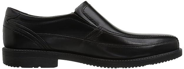 Hombre Charles Road Slip-On cuero negro 8.5 W (EE) c5IrGyK