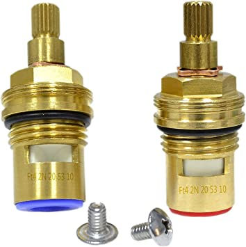 GI Universal Replacement Brass ceramic disc tap valve insert gland cartridge quarter turn by Seawhisper