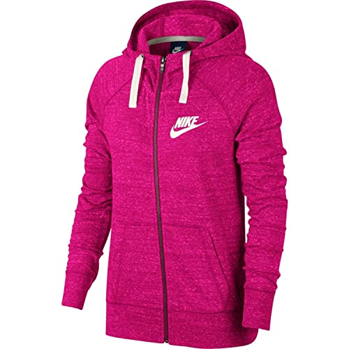 finest selection ff622 9393e Nike Womens Gym Vintage Full Zip Hooded Sweatshirt Watermelon Sail  883729-674 Size Small