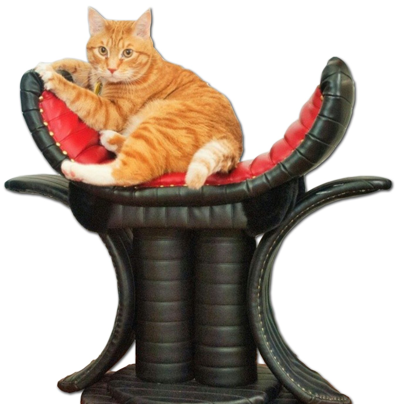 Royal Cat Boutique Imperial Akoff Throne Luxury Cat Bed