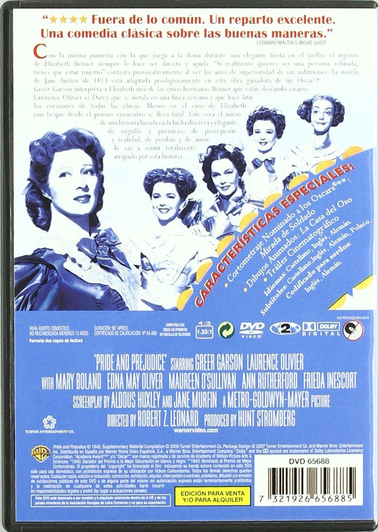 Amazon.com: Mas Fuerte Que El Orgullo [1940] (Import Movie ...