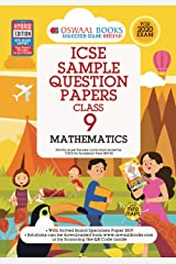 Oswaal ICSE Sample Question Papers Class 9 Mathematics (For March 2020 Exam) Kindle Edition