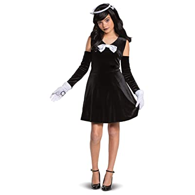 Disguise Alice Bendy and The Ink Machine Girls' Costume: Toys & Games