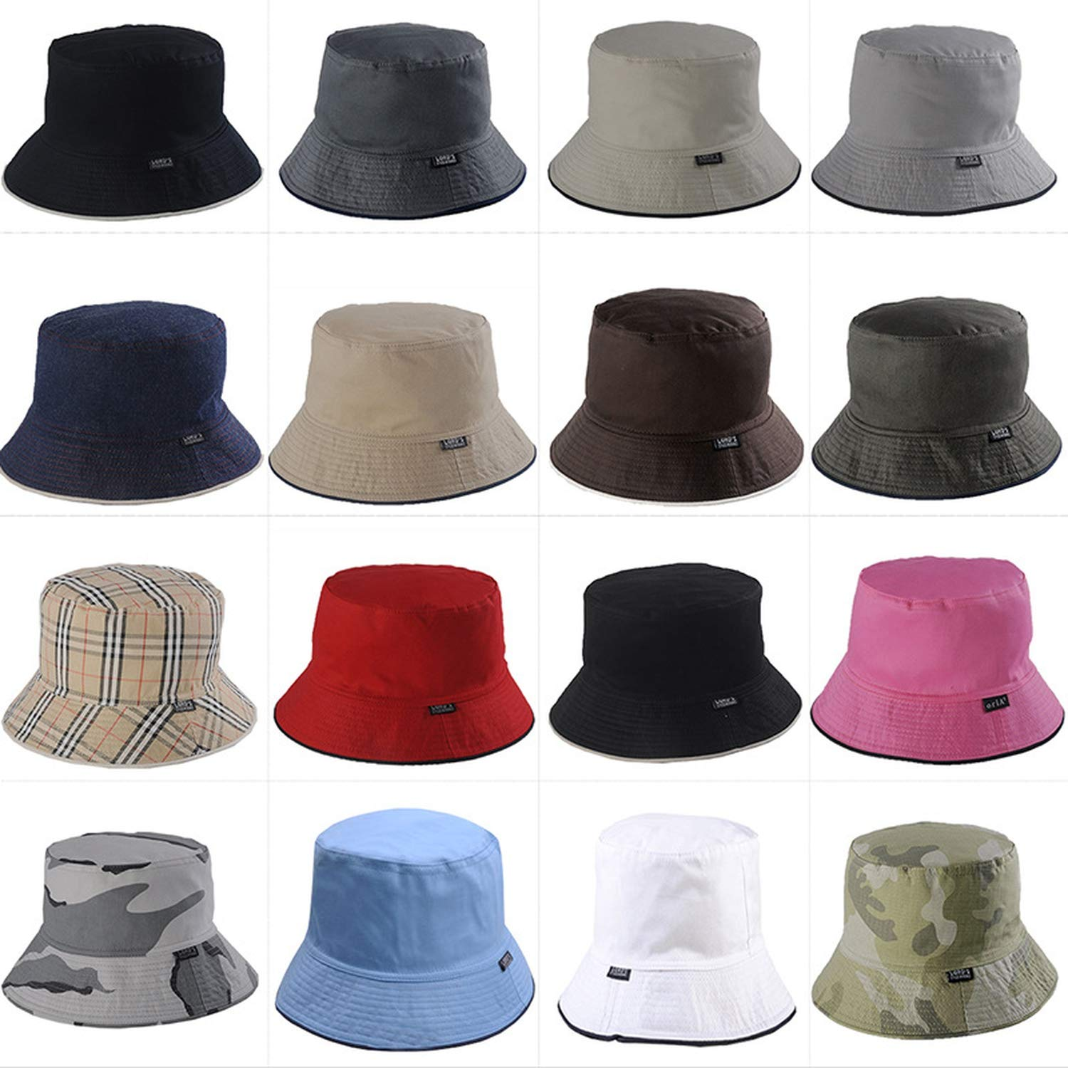 Men Reversible Two Sides can wear 100/% Cotton Sun bob Cap Comfortable chapeu Fisherman hat