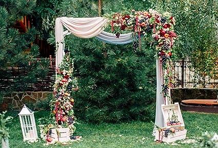 Cortina de Madera para decoración de Frutas, de 7 x 5 pies, Ideal para Bodas, Jardines, Bodas, Ceremonias, etc.: Amazon.es: Electrónica