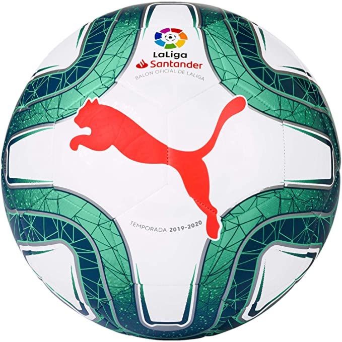 PUMA La Liga 1 MS 2019/20 Training Ball Soccer Ball Size 4 Ideal ...