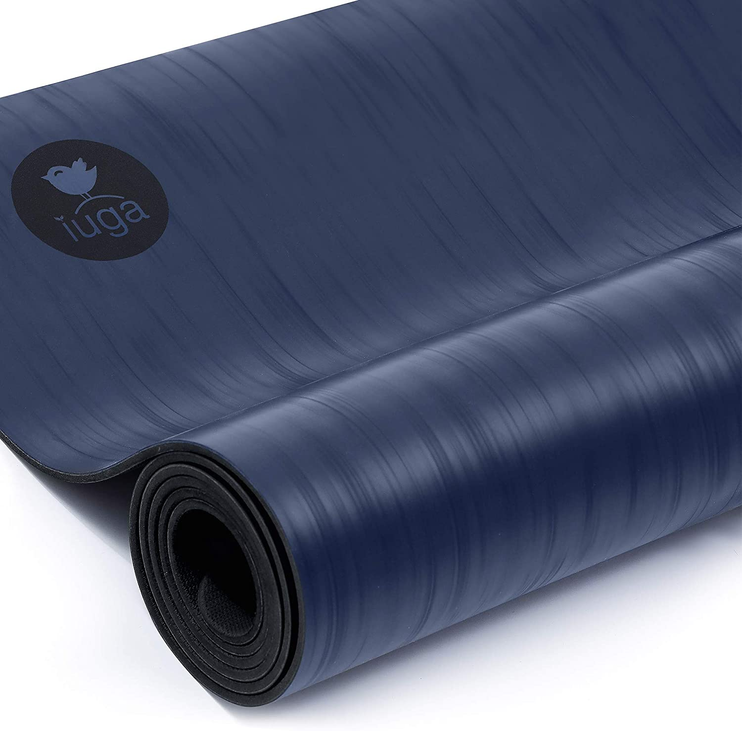 IUGA Pro Non Slip Yoga Mat, Unbeatable Non Slip Performance, Eco Friendly and SGS Certified Material for Hot Yoga, Odorless Lightweight and Extra ...