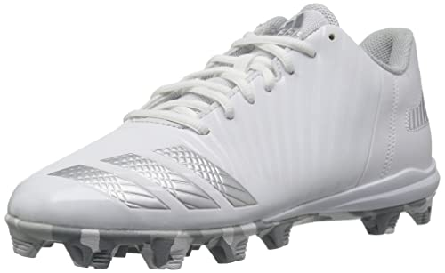 pretty nice 13a1f 83b01 Adidas Men s Freak X Carbon Mid Baseball Shoe, White Metallic Silver Light  Grey