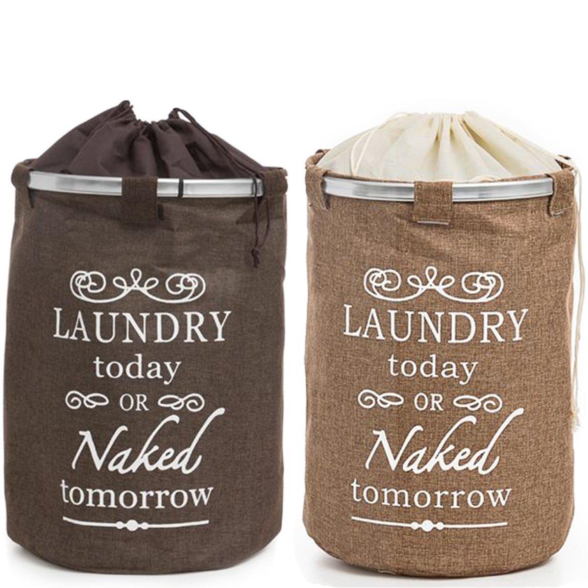Krollmann Wäschesack zur Aufbewahrung von schmutziger Wäsche im Jute ...