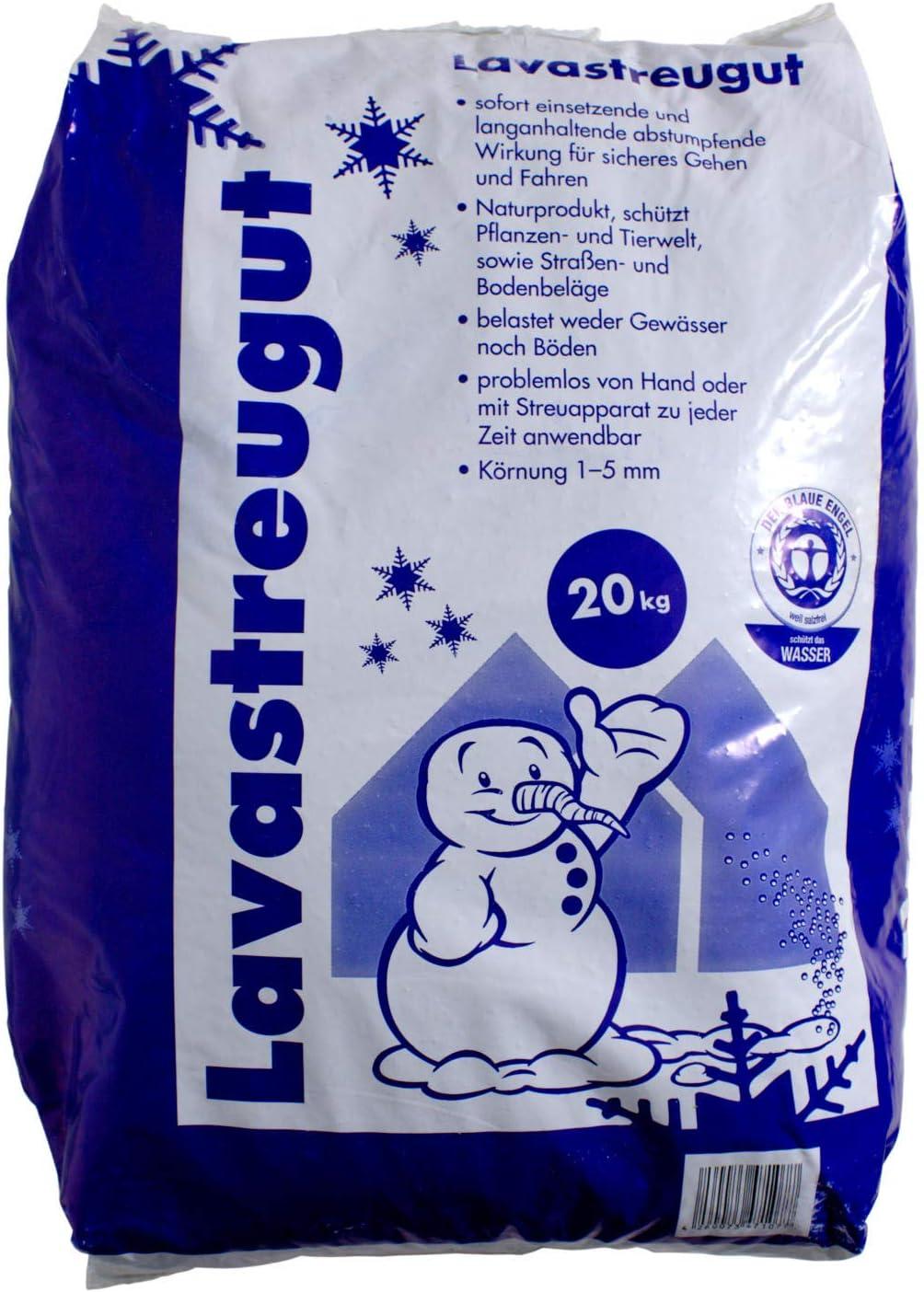 Lavastreugut Big Bag 1000kg Schnee Winter Streugut Lava salzfrei 0,20€//1kg