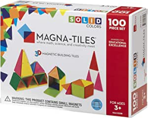 Magna Tiles 2300 Solid Colors (Pack of 100)