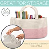 Diaper Caddy Organizer for Change Table | Portable
