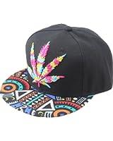 YOXO Hip Pop Marijuana Weed Green Snapback Cap Hat Men Baseball Cap