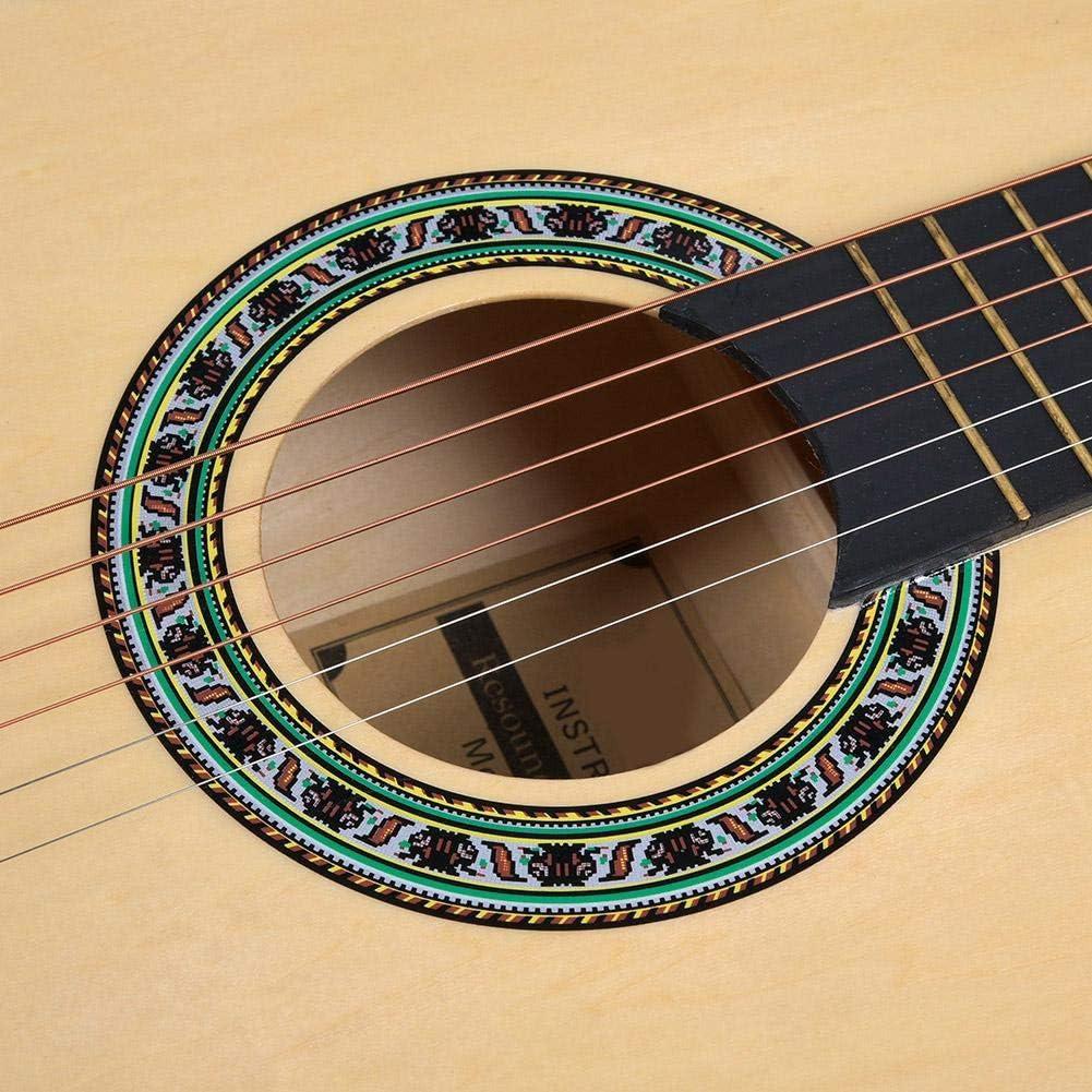 Guitarra Clásica Natural, Juego de Instrumentos Musicales de ...
