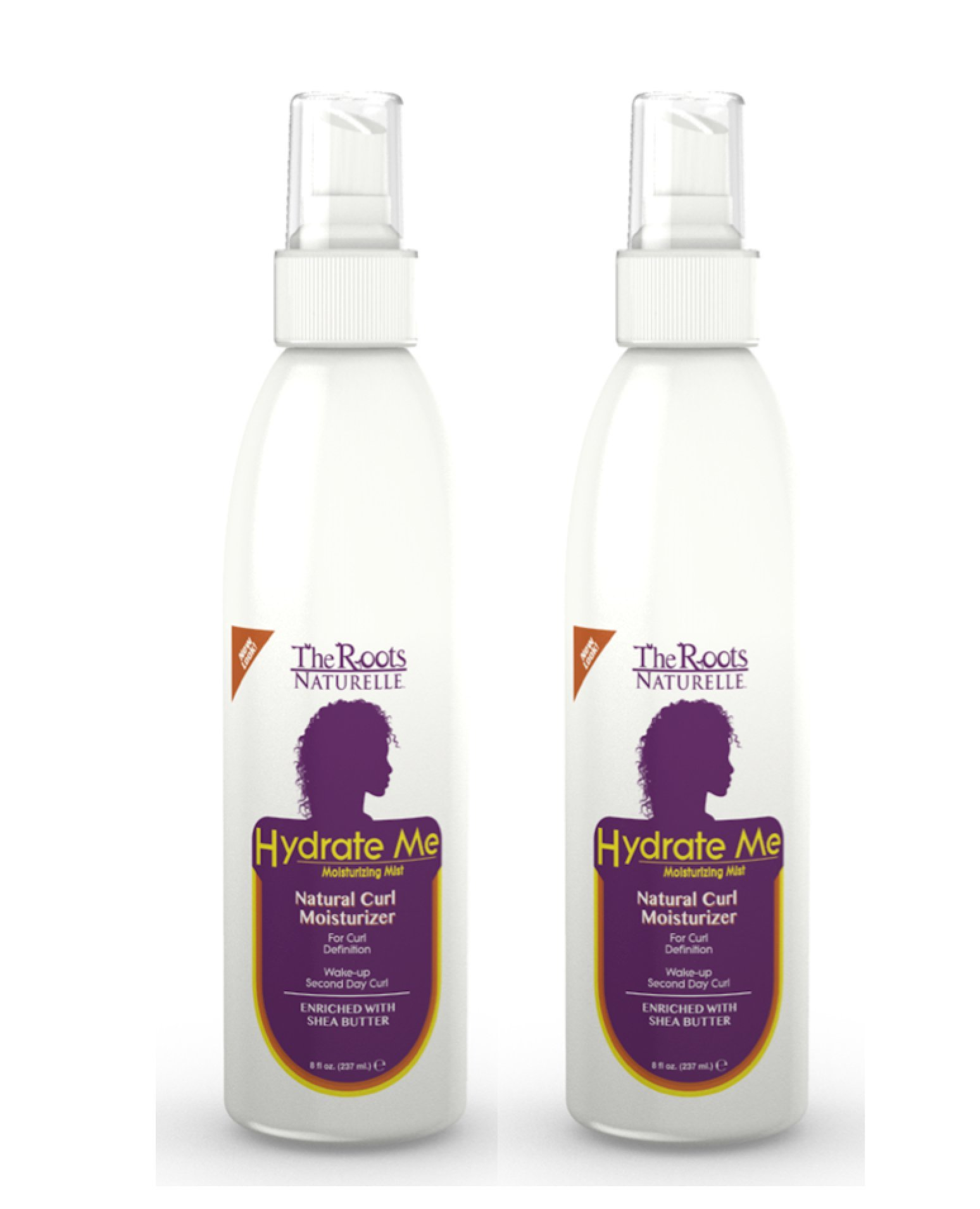 Hydrate Me Natural Curl Moisturizer And Enhancer Enriched With Shea Butter Leave In Conditioner Styling Product Natural Hair Product African American Hair Products For Women 2 Bottles Buy