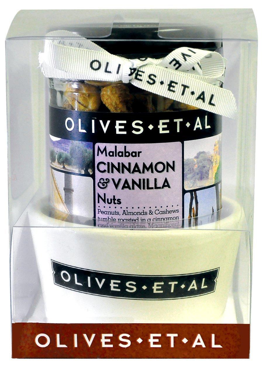Olives Et Al - Malabar Cinnamon & Vanilla Nuts with Ramekin (Case of 6)