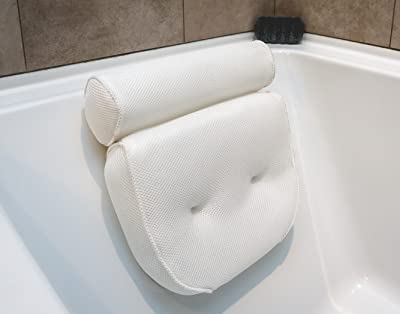 Luxurious Bath Pillow PLUS Konjac Bath Sponge