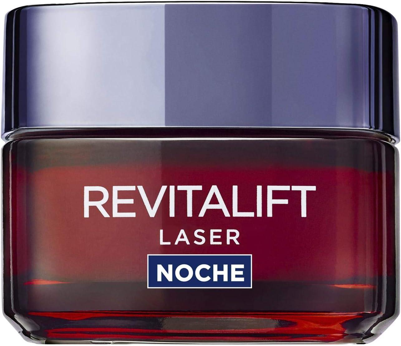 L'Oreal Paris Revitalift Laser Crema de Noche Anti-Edad con efecto mascarilla, Proxylane - 50 ml
