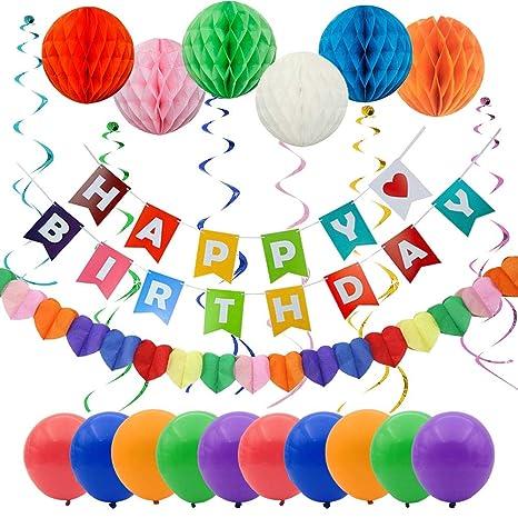 Decorazioni Festa Buon Compleanno Striscione Buon Compleanno