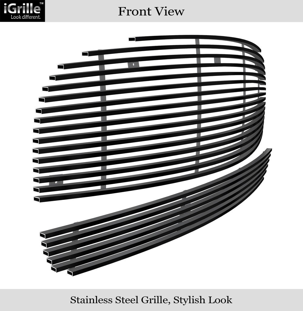 Amazon com 06 10 chevy hhr billet grille grill combo upper lower insert c87868a automotive