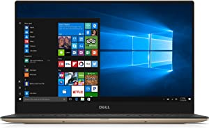 Dell XPS Thin and Light Laptop - 13.3in QHD+ Touch, Core i7-7560U, 8GB RAM, 256GB SSD, Windows 10 Home, Infinity Edge, Rose Gold - XPS9360-7727GLD-PUS (Renewed)
