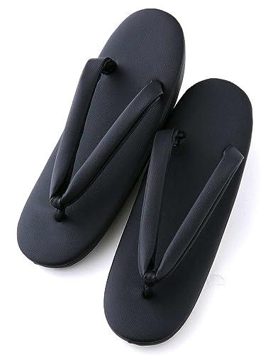 a43978b87ce6d6 Amazon | [ノーブランド品] 黒草履 喪服 着物 お葬式 法事 黒 フリー ...