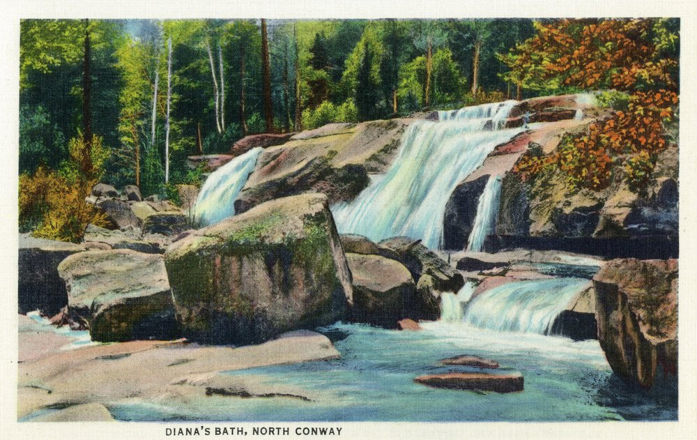 北Conway、New Hampshire – ビューのダイアナのBath 12 x 18 Art Print LANT-19045-12x18 B00QPZ1Z62  12 x 18 Art Print