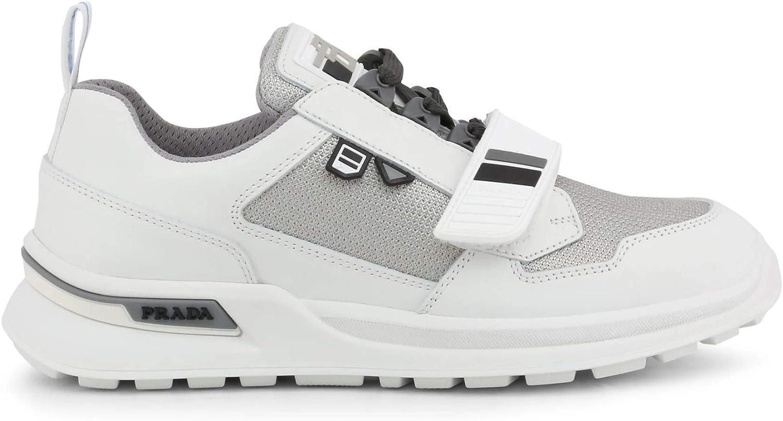 Prada Homme Sneakers Blanc White