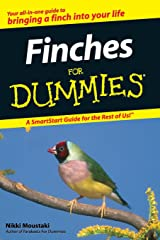 Finches For Dummies Paperback