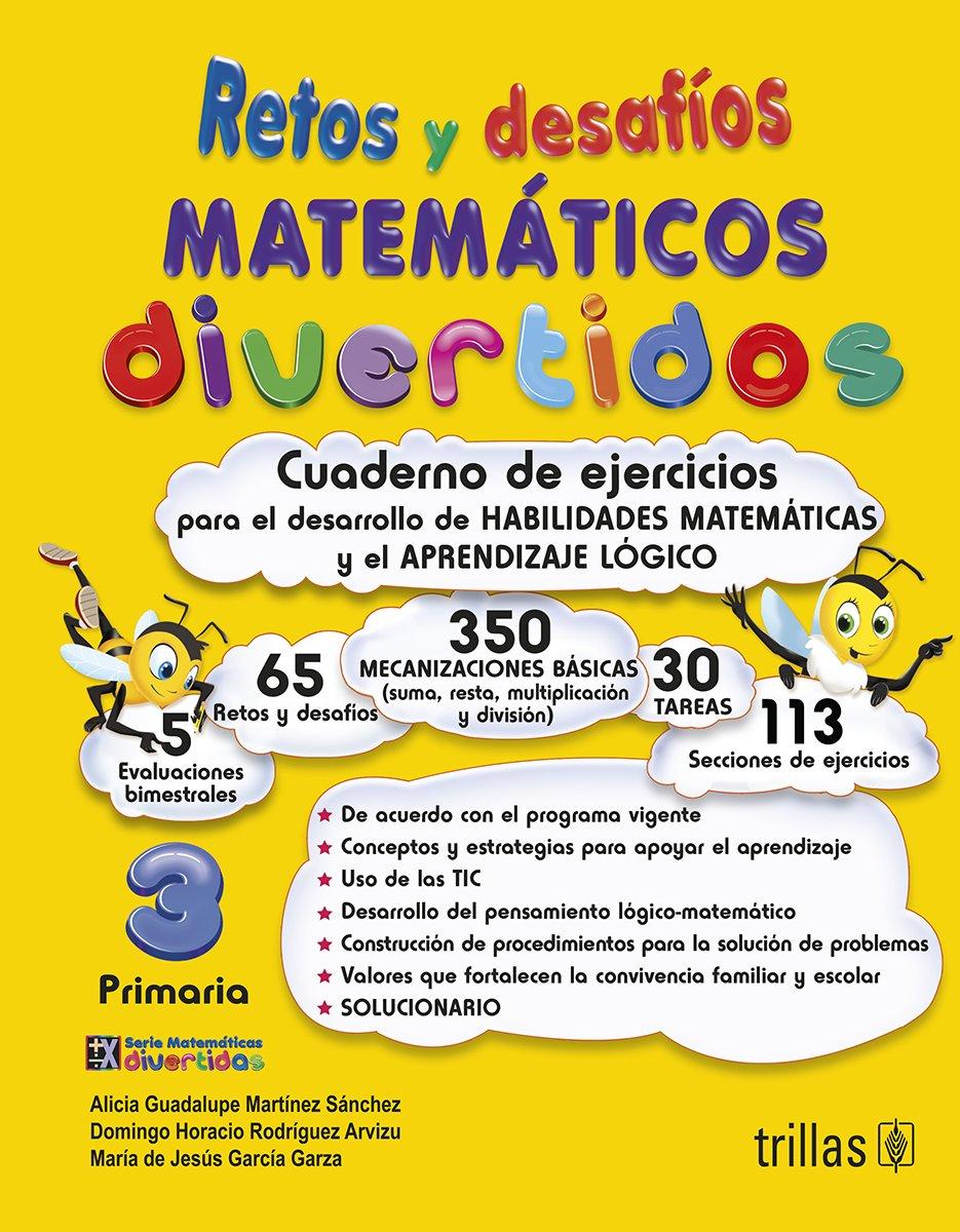Retos Y Desafios Matematicos Divertidos 3. Primaria. Cuaderno De Ejercicios: Amazon.es: Libros