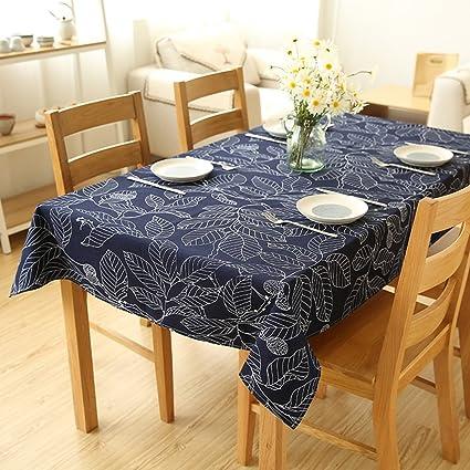 Tablecloth Flashing- Cuadrado Material de Algodón Rectangular Paño ...