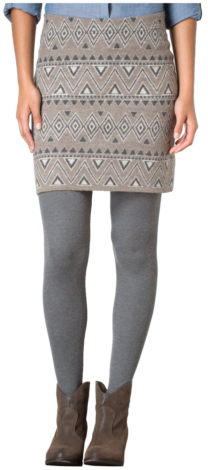 Toad&Co Diamond Sweater Skirt - Women's Falcon Brown Small