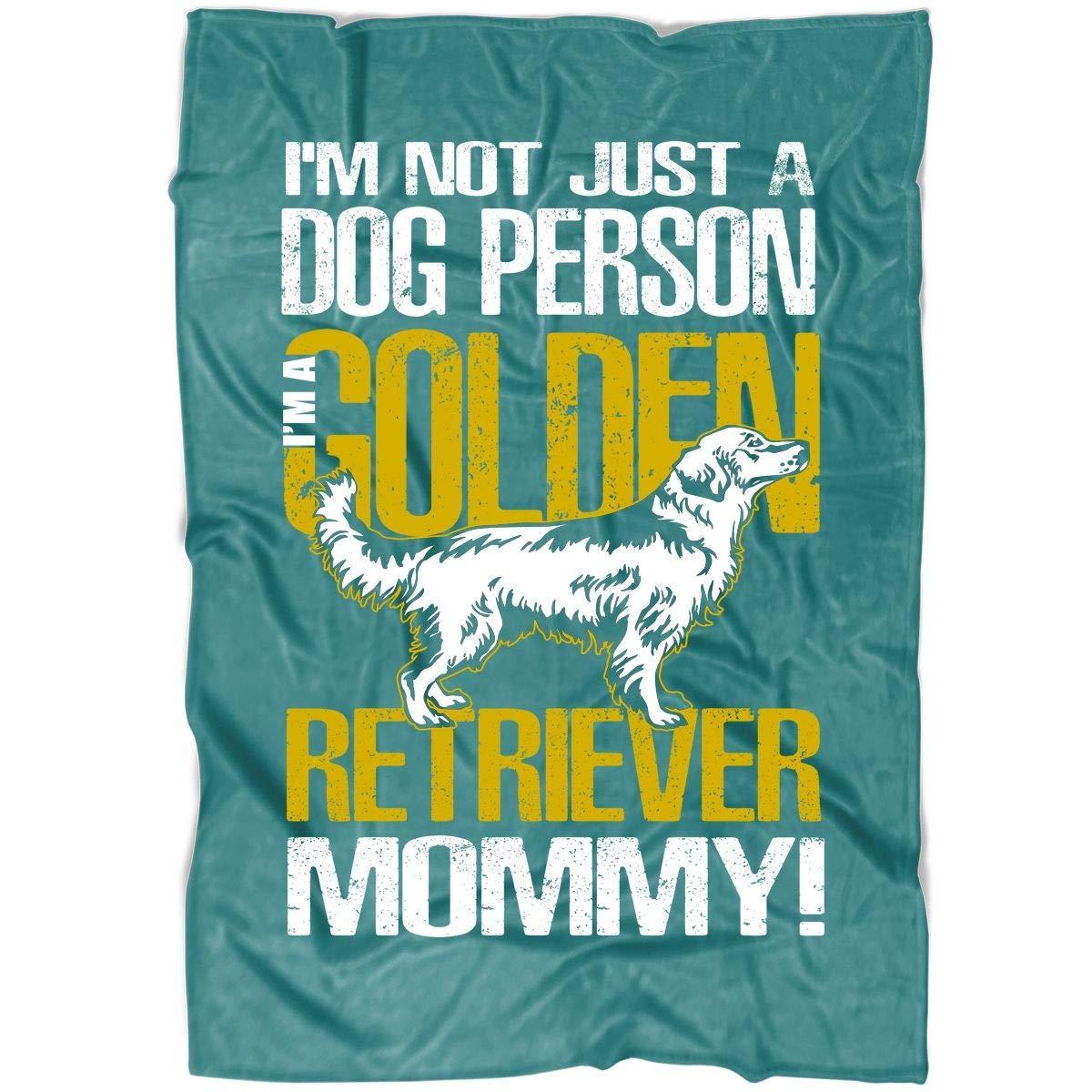 Amazon.com: COLUSTORE Im A Golden Retriever Mommy Soft ...