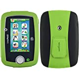 HOTCOOL LeapFrog LeapPad 3 Case - New-Leather with Kickstand 2014LBG Case for LeapFrog LeapPad3 Kids' Learning Tablet(2014 Version), Green