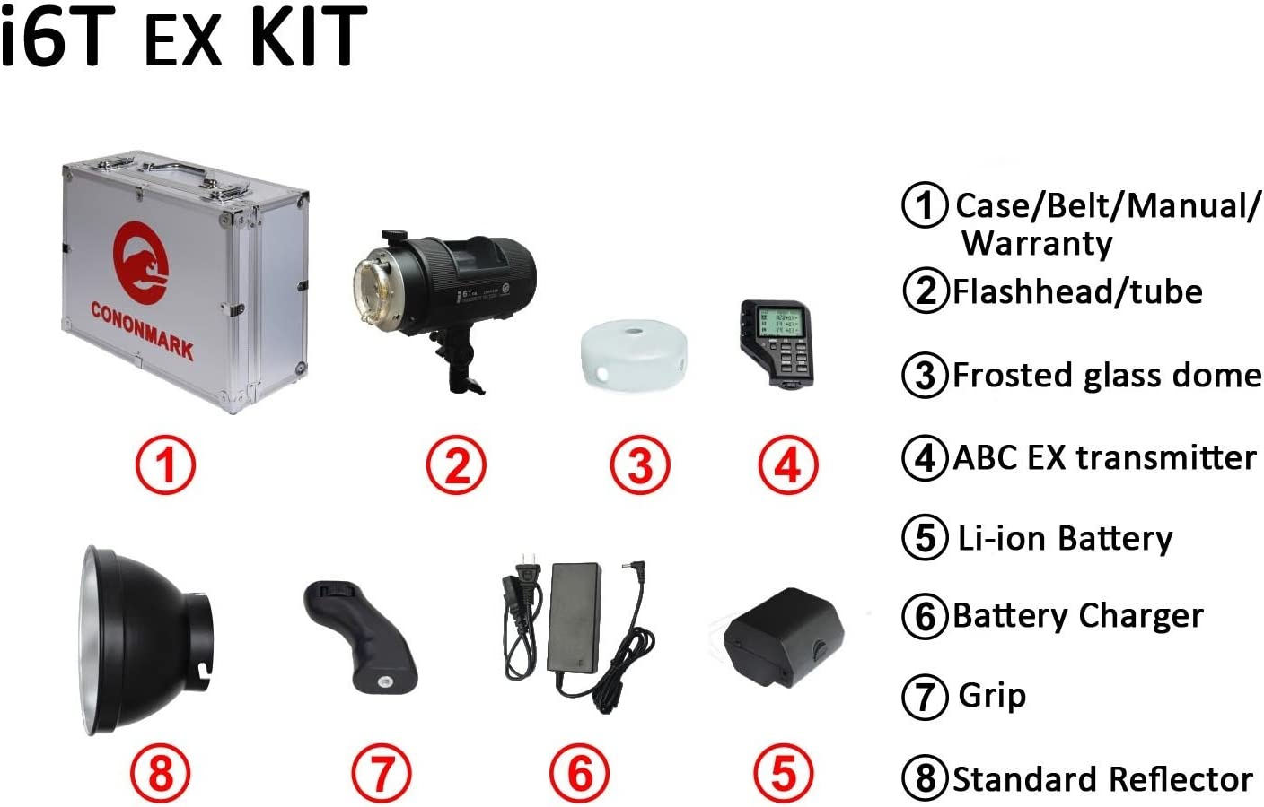 Neewer i6T EX 600W 2.4G TTL Studio Strobe 1//8000 HSS Flash Monolight Compatible with Sony 400 Full Power Flashes //Bowens Mount Wireless Trigger//Modeling Lamp//Recycle in 0.2-1 Sec//Lithium Battery