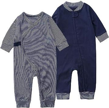 Bebé Pijama Pelele NiñOs NiñA Manga Larga Ropa de Dormir Unisex ...