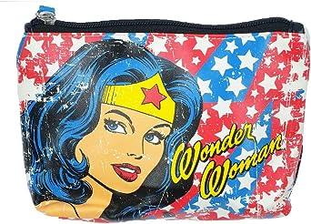 Wonder Woman bolsa para raquetas de tenis, para mujer neceser de cara de lo que lo hace diseño de estrellas y: Amazon.es: Ropa y accesorios
