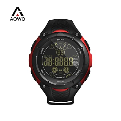 AOWO X7 Reloj Inteligente Pulsera Digital Smartwatch IP68 50m Impermeable Reloj Deportivo Bluetooth 4.0 Al Aire Libre Gimnasio Senderismo Fitness ...