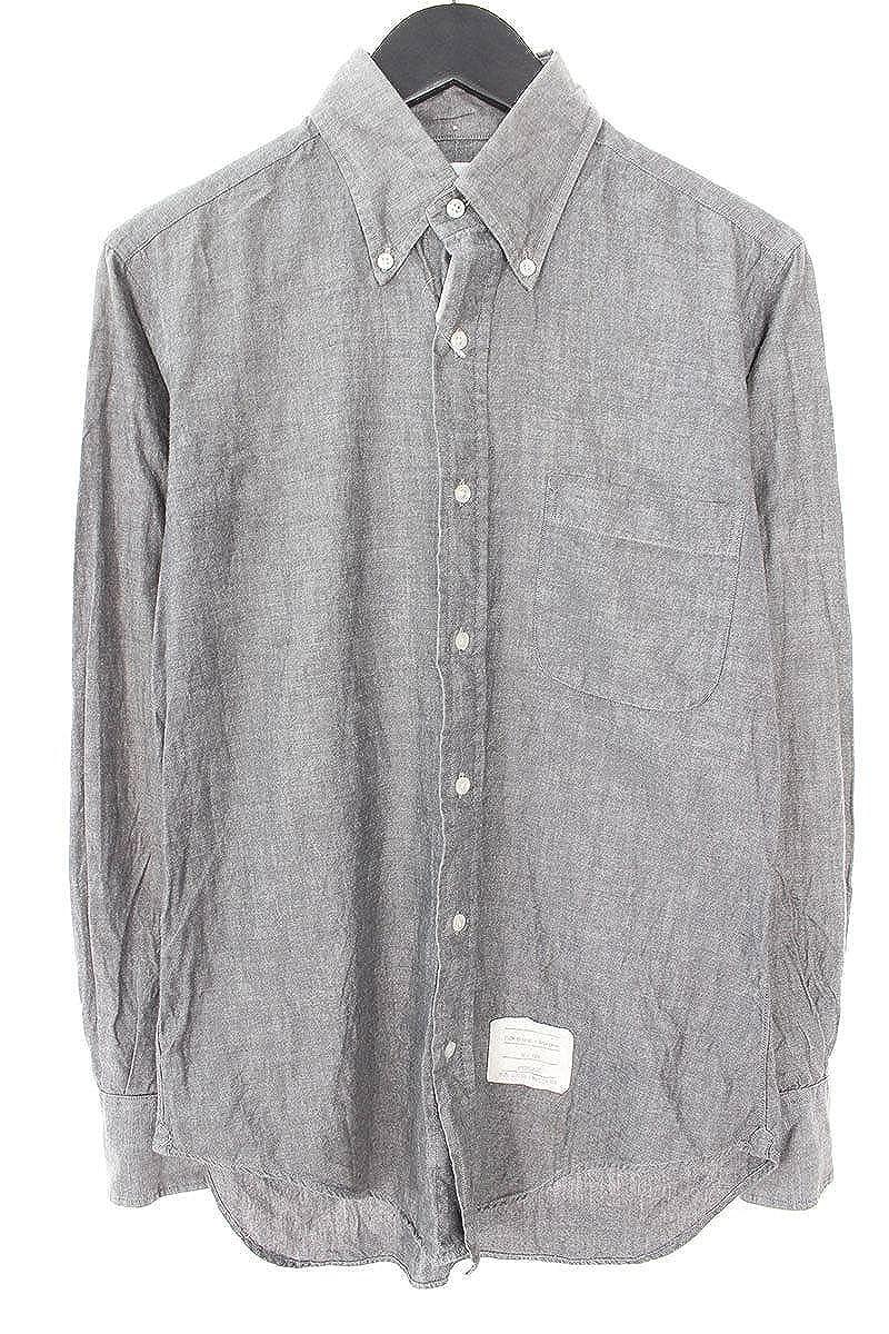 (シュプリーム) SUPREME ×トムブラウン/THOM BROWNE 【10SS】【Oxford Shirt】ボタンダウンオックスフォードシャツ(1/ブラック) 中古 B07FB9NLNK