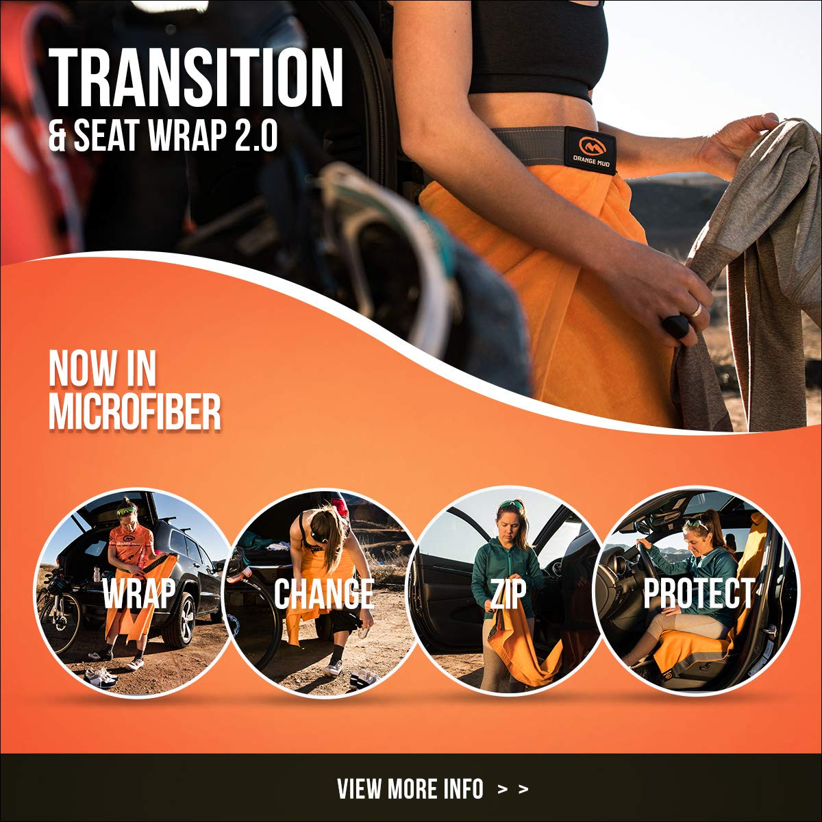 Transition /& Seat Wrap V2.0 Purple