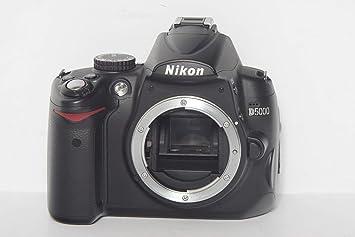 Amazon.com: Nikon D5000 12,3 MP DX cámara réflex digital con ...