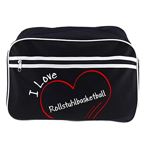 Diseño de bolso bandolera de baloncesto en silla de ruedas I Love ...