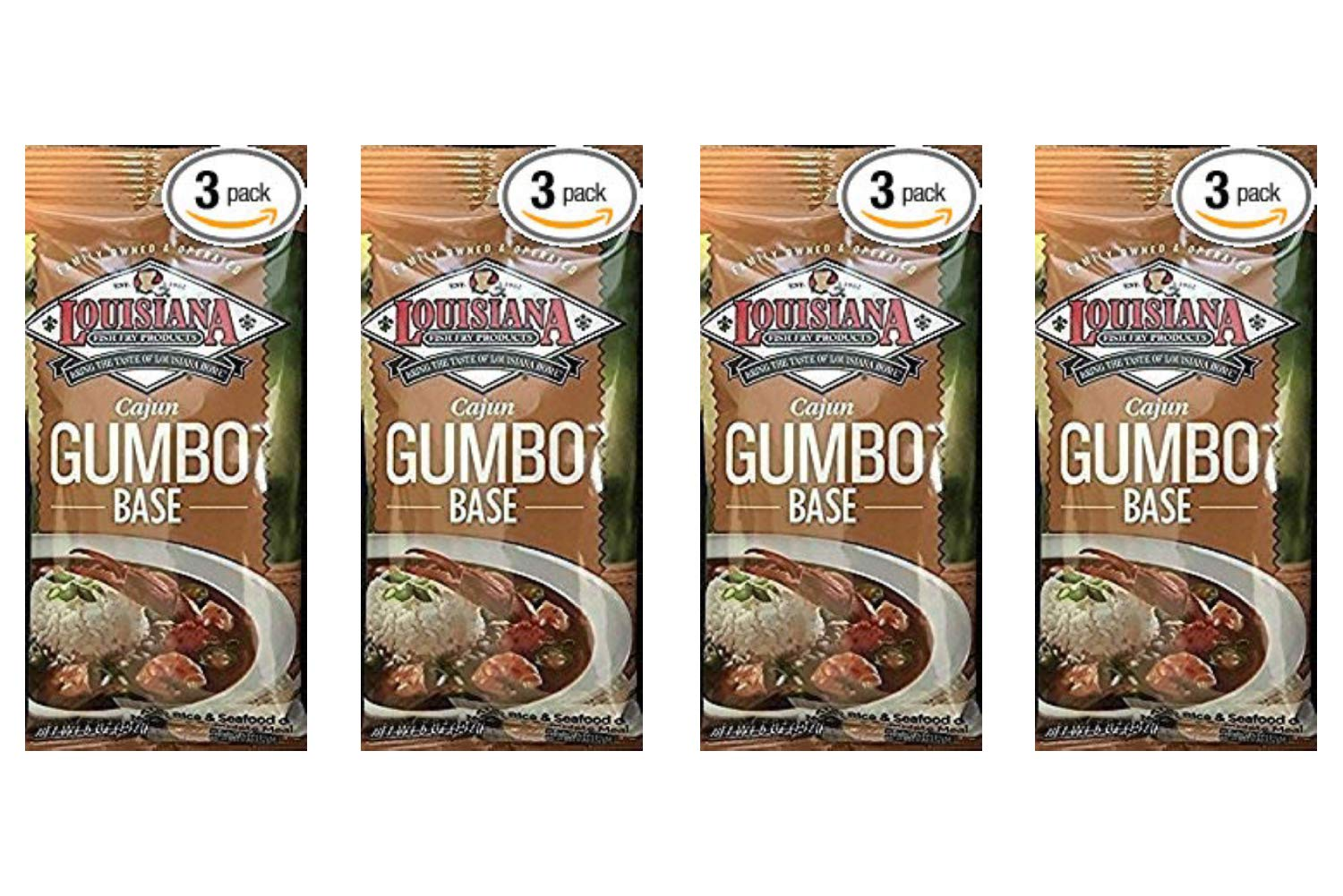 Cajun Gumbo Base - 5 oz (Pack Of 3) (4 Pack)