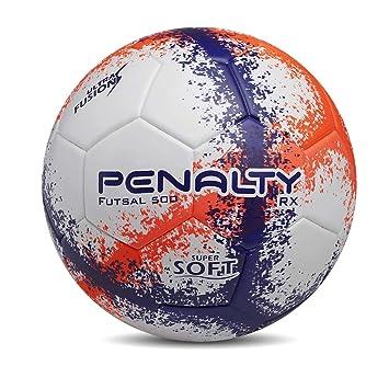 Bola Futsal RX 500 R3 Fusion VIII Penalty - Branco Roxo Laranja ... fc5696d8428f7