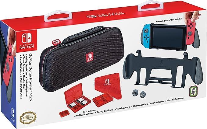 Bigben Interactive Custodia e Grip Ufficiale Go Play - Nintendo Switch [Bundle] [Importación italiana]: Amazon.es: Videojuegos