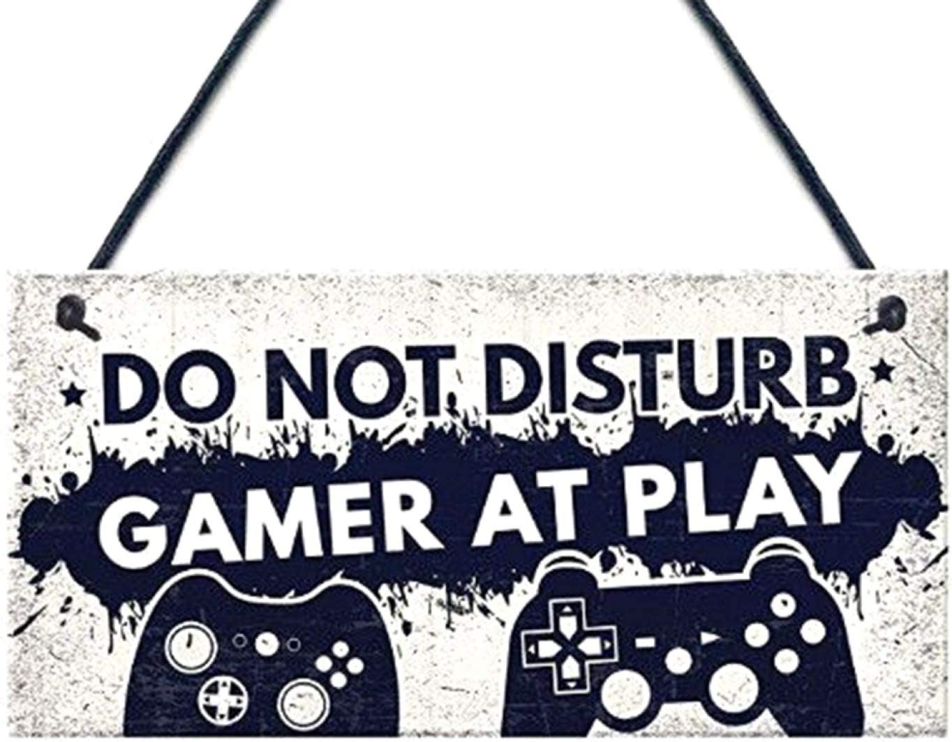 None one Size WT KULA Strict Do Not Disturb Im Gaming Gamer Gaming Bedroom Meeting Room Gifts Funny Novelty Christmas Birthday New Year Gift for Son Brother Boyfriend
